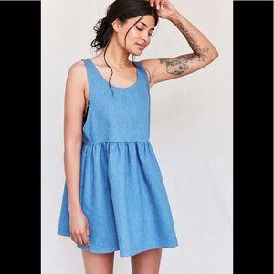 Urban Renewal Recycled Denim Babydoll Dress